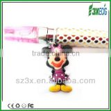 New! 3x Cute Mickey Type Vapor E Cig Charms lanyard whoseles
