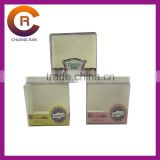 Transparent clear pvc cookie boxes printed custom made cake boxes
