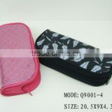 2013 new style pencil zipper bag, mesh pencil pouch,clear pvc pencil bag