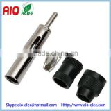 Soldeless DIN Male Screw-on Aerial Connector motorola male Plug Converts Bare Wires for Car Radio                                                                         Quality Choice