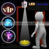 ABS led projector car door lamp to promotion customed design logo lamp all logo can be customed for halloween