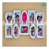 ningbo wholesale plastic multi frame for photo