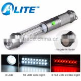 3-in-1 Magnetic Work Light Outdoor Car Vehicle 35 LED Emergency Flashlight                                                                         Quality Choice