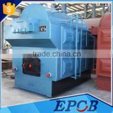 Solid Fuel Wood charcoal or Fabric Fired Steam Boiler for Bangladesh