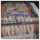 Free Sample China manufacturer food grade fiber glass open mesh conveyor belt