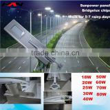 Motion sensor intergrated solar house number light