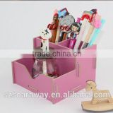 high quality school stationery wooden pen holder