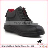 PU injection leather safety shoes for women/lady safety shoe