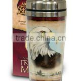 Promotional double wall insulated drinking tumbler