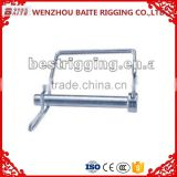 QUICK PINS SQUARE ZINC PLATED CHAIN HOOK