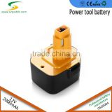 Rechargeable Dewalt 12V Volt 2.0Ah Ni-CD Best selling cordless drill battery fit DC9071, DW9071, DW9072, DE9071, DE9074