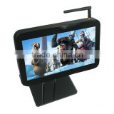 small video screen 8 inch lcd headrest lcd 3g wifi bus advertising screen advertising car usb media player ethernet media player