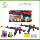 Hot sale kids funny electric absorbent water bomb toy gun water soft bullet gun