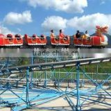 2016 Thrilling Amusement Park Games Sliding Dragon Mini Roller Coaster with High Quality for Sale