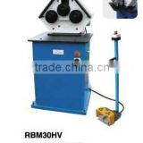 China Manufacture and exporter,TZOUKE, With CE standard and certificate, RBM30HV round pipe bending machine