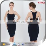 2015 New Design Women's Fashion Black Bodycon Dresses