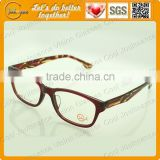 Double colors of glasses frame china professional supplier latest new style fashion optic kids eyewear