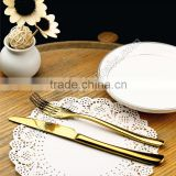 golden flatware ,golden fork ,stainless steel cutlery                                                                         Quality Choice