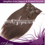 Long Curly Clip In Human Hair Extension, Ombre Hair Extension Clip In, Cheap 100% Human Hair