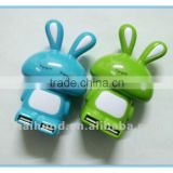USB 2.0 hub/ 2 port USB hub/ animal shape hub
