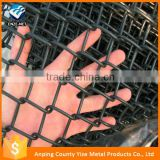 2016 hot sale product anping lowes chain link fence prices /black vinyl coated wire mesh