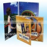 Audio CD with full color printing , cd replication line
