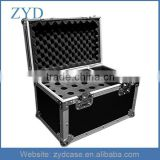 High Quality Durable Aluminum Music Instrument Flight Case For 20 Microphones and Accessories ZYD-HZMfc022