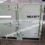 powder coated steel container used for storage& transporting synthetic rubber exporting to Japan