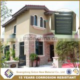 European Standard Insulated Summer & Winter Aluminum window shutters from alibaba China