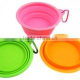 Wholesale Collapsible Supreme Silicone Pet Food Bowl Silicone Travel Dog Bowl