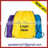 wholesale 2015 new design hemp drawstring sport bag hemp bag drawstring