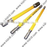rock drill extension rod for drill machine and drill bits