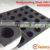 2014 hot waterproof pe membrane sheet garden waterproof sheet waterproof fiber cement sheet
