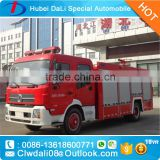 water fire fighting truck vehicle 5000 L 4*2 Manufacture left / right hand driving