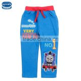 (B4263)Blue 2-6Y Nova brand wholesale ready made baby boys casual pants cheap clothes kids Thomas trousers