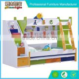 2016 Hot selling cheap modern kids drawer bed
