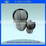 industrial ss wire mesh tea filter basket for industry