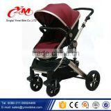 2015 new design 3 in1 air wheel baby stroller / High landscape cart stroller 3 in 1 / high landscape baby stroller                                                                         Quality Choice