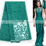 2016 latest fashion lace design baju kurung embroidery french lace fabric beaded lace fabric