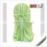 Satin Fabric Material and Plain Style Universal Banquet Chair Cover
