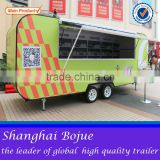 2015 hot sales best quality mobile fast food caravan electric food caravan mobile food caravan                                                                         Quality Choice