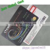 CR80 size uid MF 1k inlay rfid chip RFID PVC card