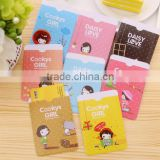 wholesale lovely cartoon girls printing business card cover bag pvc passport case bus studnet ID card holder