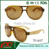 China supplier high quality cheap aviator sunglasses , wood polarized sunglasses , Bamboo sunglasses
