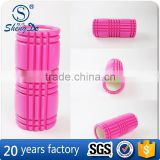 EVA Cover PVC Core Different Colors Pink Foam Roller, Exercise Roller