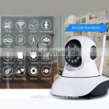 Wireless ip Camera, Indoor Monitors 360 Cam WiFi ip Camera Baby Pets Monitor Remote Home Security IP Cameras 2 Way Video