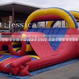 INquiry about durable 45' Inflatable Obstacle course for sale