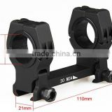 M10 QD-L Rifle Scope Mount Bubble Level 25.4 30mm Picatinny/Weaver Ring For Tactical Hunting Scope Mount Hunting Accessories