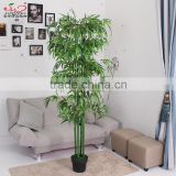 wholesale Artificial bamboo tree and plants bamboo leaves for home decoration yiwu factory