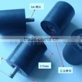 Metal Bonded Rubber Resilient Mounting / Vibration Isolation Threaded Rubber Mount / Pad Pressure Machine Rubber Mount